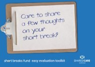 Care to share a few thoughts on your short break?