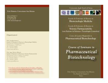 Scarica il volantino in formato pdf - Farmacia - Università degli Studi ...