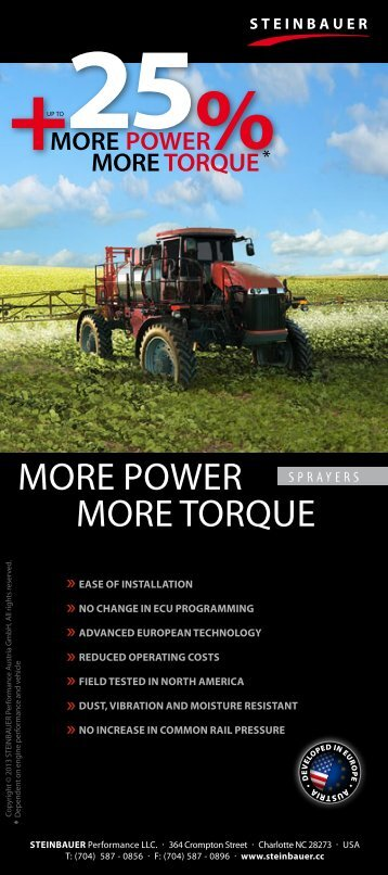 Sprayer Brochure - My-Registration.com