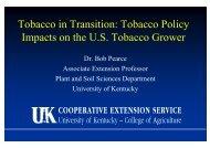 Pearce KY Tobacco Po..