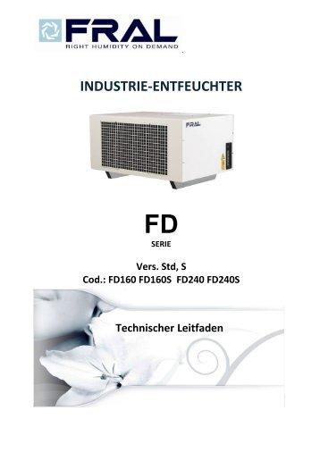 Technischer Leitfaden FD 160/240 PDF - Wulff Trocknungssysteme