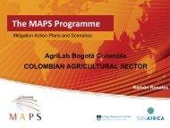 Colombia - Mitigation Action Plans and Scenarios (MAPS)
