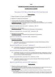 UCB ASSEMBLEE GENERALE ORDINAIRE DES ACTIONNAIRES ...