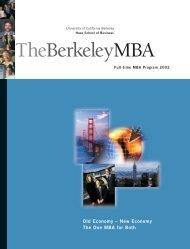 TheBerkeleyMBA - Full-time MBA Program, Haas School of ...