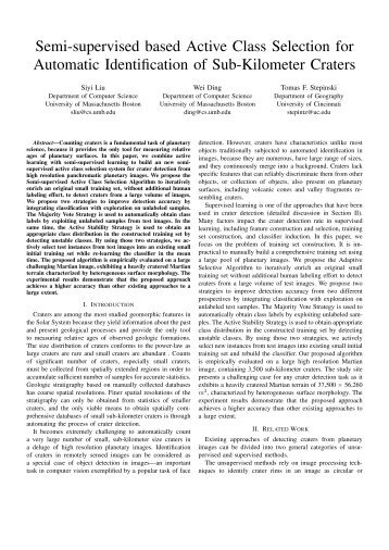Semi-supervised based Active Class Selection for Automatic ...