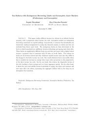 Tax Reform with Endogenous Borrowing Limits and Incomplete ...