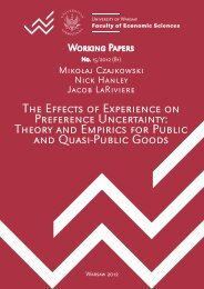 Theory and Empirics for Public and Quasi-Public Goods