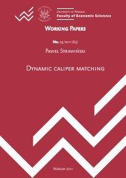 Dynamic caliper matching