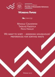 We want to sort! – assessing households' preferences for sorting waste