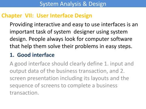 System Analysis Design Programming Tutorials Exercises Tips