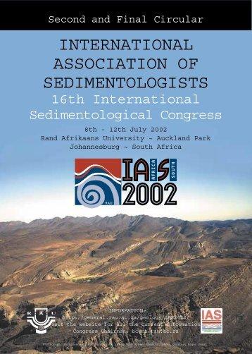 IAS2002 Second Circular v1b - MyGeologyPage