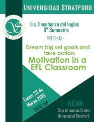 Motivation in a EFL Classroom