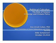Climate and Policy