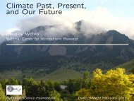 Climate Past, Present, and Our Future - IMAGe