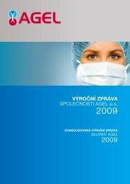 Výroční zpráva společnosti AGEL a.s. - 2009