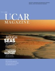 MAGAZINE - University Corporation for Atmospheric Research