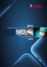 Výroční zpráva společnosti AGEL a.s. - 2010