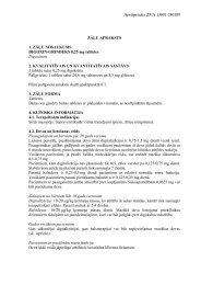 Apstiprinãts ZVA 13001-240309 ZĀĻU APRAKSTS 1 ... - Grindeks