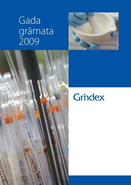 Gada grāmata 2009 - Grindeks
