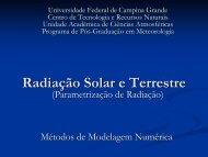 Radiação Solar e Terrestre - Dca.ufcg.edu.br - Universidade Federal ...