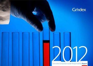 Corporate Social Responsibility Report 2012 - Grindeks