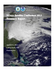 Final Conference Report - GOES-R