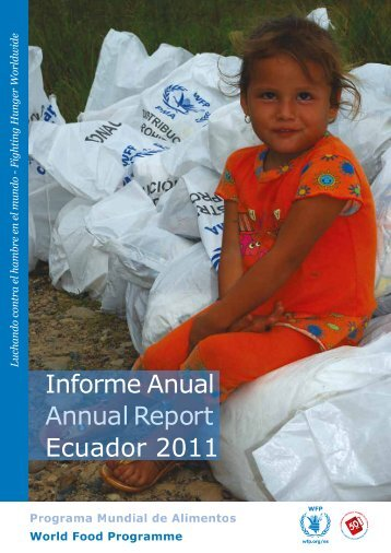 Informe Anual Annual Report Ecuador 2011 - Adaptation Fund