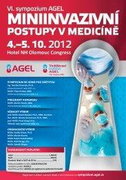 podrobný program VI. Sympozia AGEL