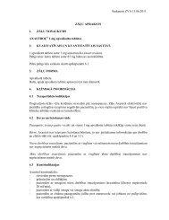 Saskaņots ZVA 13.06.2011. ZĀĻU APRAKSTS 1. ZĀĻU ... - Grindeks