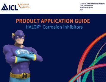 PRODUCT APPLICATION GUIDE - Halox