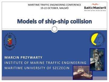 Models of ship-ship collision (2 MB) - Baltic Master