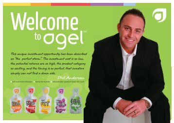 oulines agel welcome pack