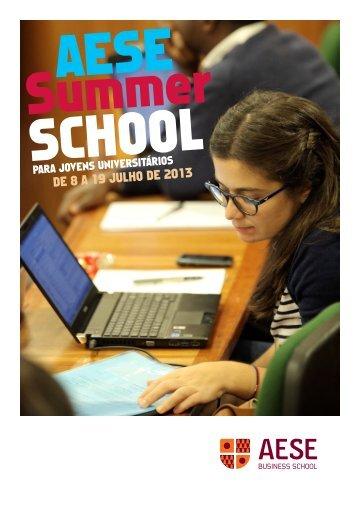 DE 8 A 19 JULHO DE 2013 - AESE