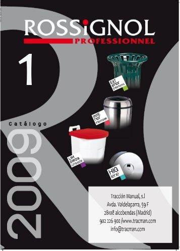Catalogo 2009 Rossignol - Tracman