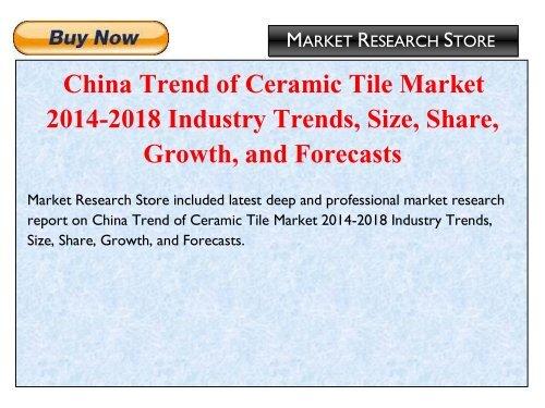 tile industry statistics