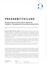 Eisenbahn-Siedlungs-Gesellschaft Berlin mbH - Deutsche Wohnen
