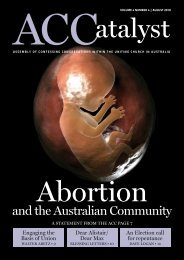 Download the August 2010 edition - Assembly of Confessing ...