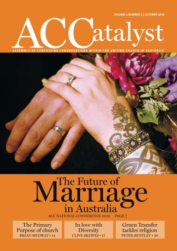 Download the October 2010 edition - Assembly of Confessing ...