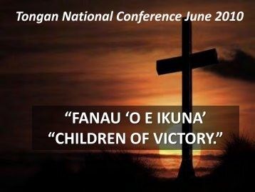 children of victory. - Assembly of Confessing Congregations