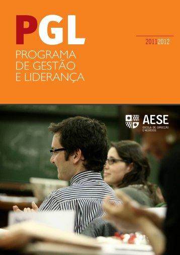 PROGRAMA DE GESTÃO E LIDERANÇA - AESE