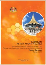 Negeri Sarawak - Jabatan Audit Negara