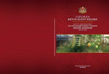 JH302459 cover sarawak.indd - Jabatan Audit Negara