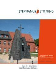 Aus der Geschichte der Stephanus-Stiftung