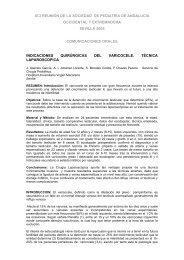 indicaciones quirúrgicas del varicocele. técnica laparoscópica