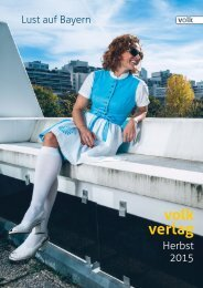 Volk Verlag München – Verlagsvorschau Herbst 2015