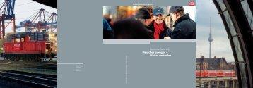 Deutsche Bahn AG: Menschen bewegen – Welten verbinden