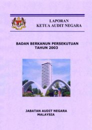 LAPORAN KETUA AUDIT NEGARA - Jabatan Audit Negara