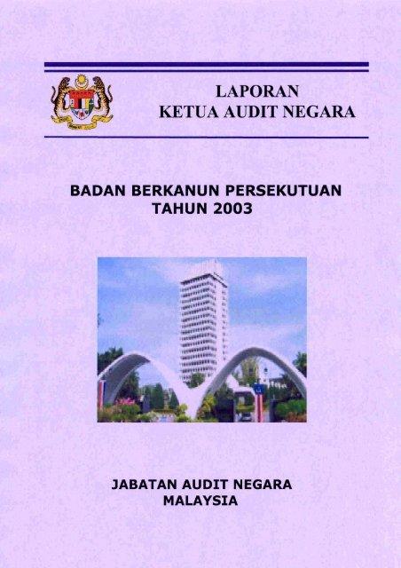 Laporan Ketua Audit Negara Jabatan Audit Negara
