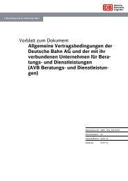 Allgemeine Vertragsbedingungen (AVB) - Beratungs