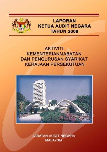 bahagian i - Jabatan Audit Negara